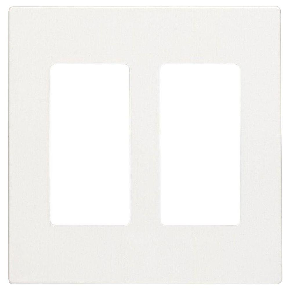 Leviton Plus 2 Gang Screwless Snap On Decora Wall Plate White R72 Of Snapon Perfect For Small To Medium Cleaning Jobs The