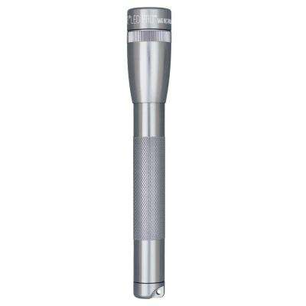 2AA Gray LED Pro Mini Flashlight