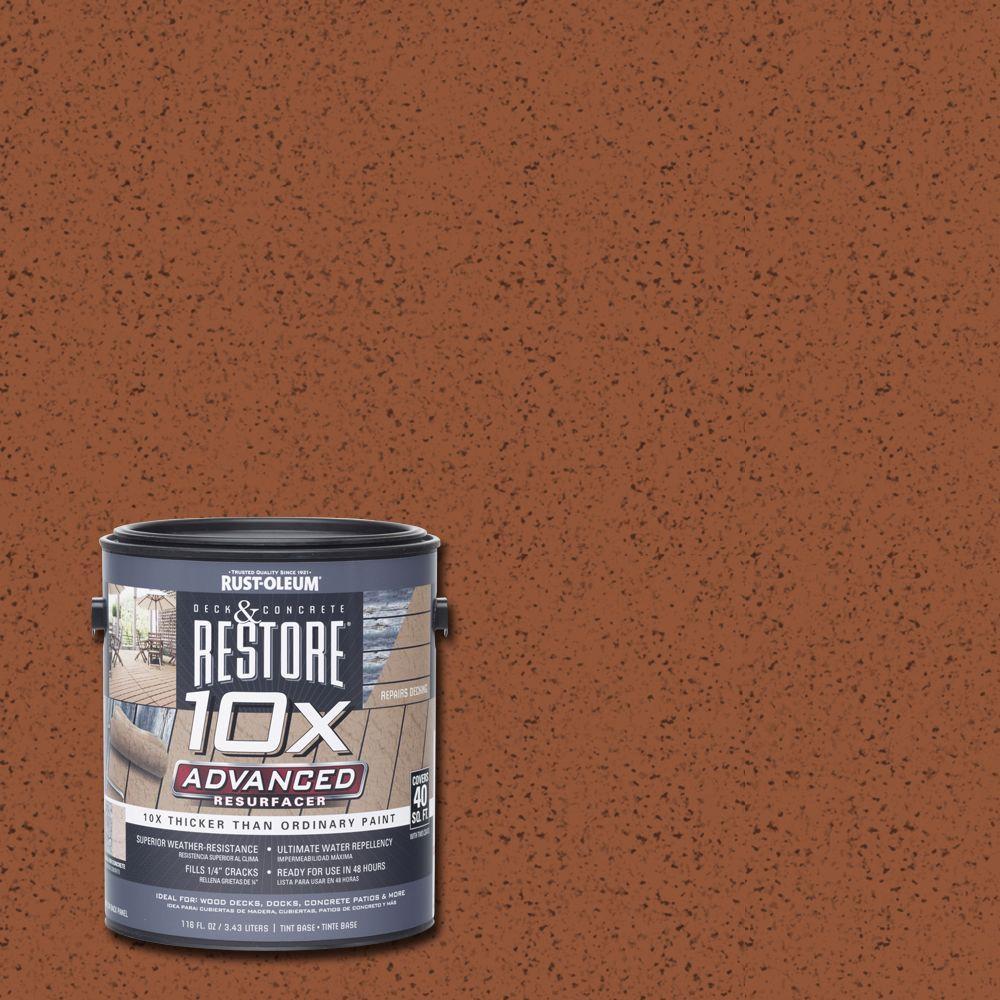 1 gal. 10X Advanced California Rustic Deck and Concrete Resurfacer