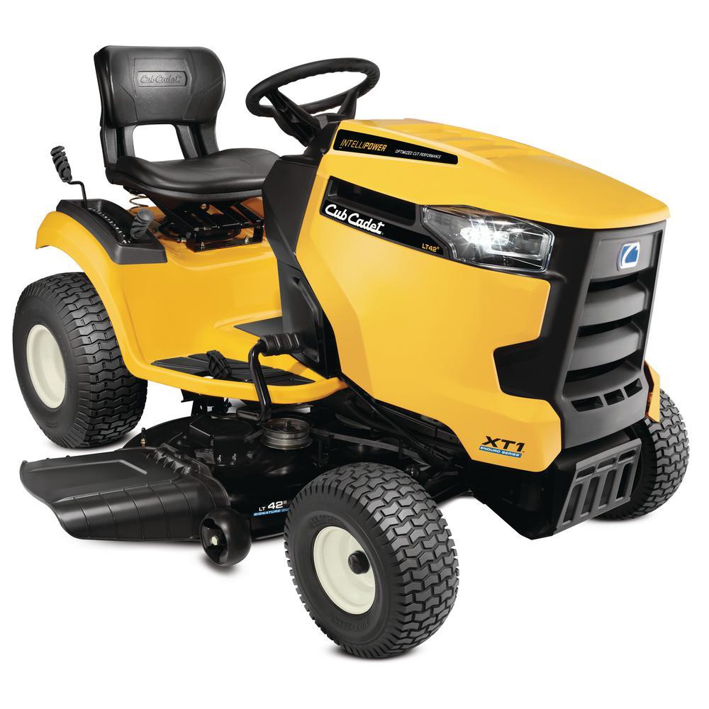 Cub Cadet XT1 Enduro LT 42 in. 547 cc Engine with IntelliPower Hydrostatic Gas Riding Lawn Tractor (CA Compliant)
