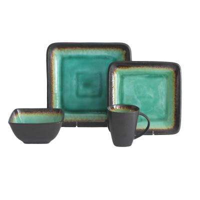Max 16-Piece Jade Dinnerware Set