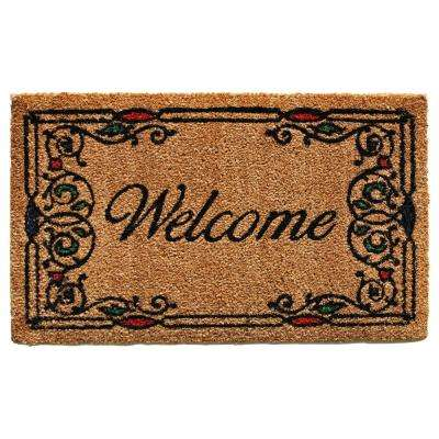 Charleston Welcome Door Mat 17 in. x 29 in.