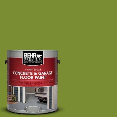 1 gal. #P360-7 Sassy Grass 1-Part Epoxy Concrete and Garage Floor Paint