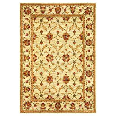 State of Honor Ivory 8 ft. x 10 ft. Area Rug