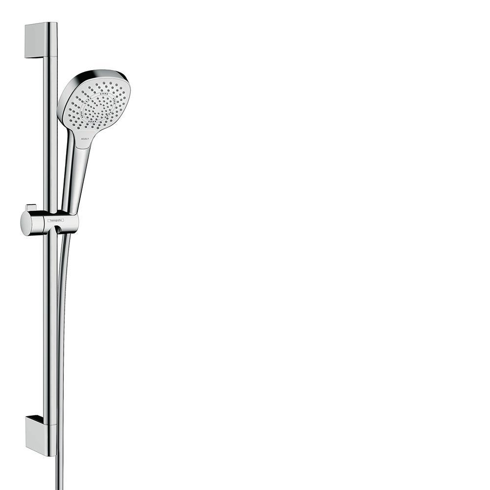 Beliebt Hansgrohe Croma Select E 110 3-Spray Square Wall Bar Shower Kit VJ23