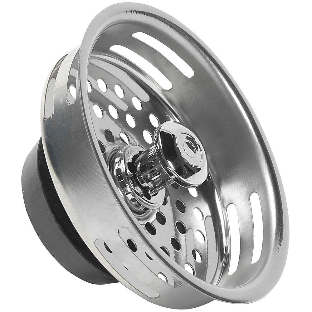 Fit-All Replacement Strainer Basket in Stainless Steel