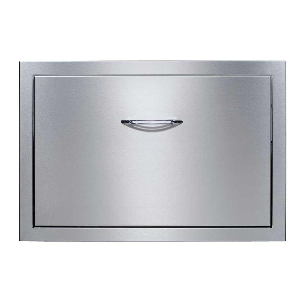 Built In Stainless Steel Cooler Drawer System With 48 Qt