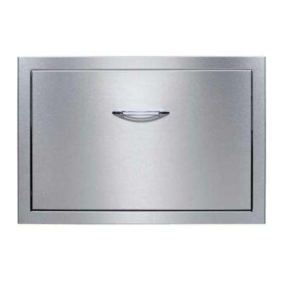 Precision 30 in. Built-In Stainless Steel Cooler Drawer System with 48 qt. Cooler