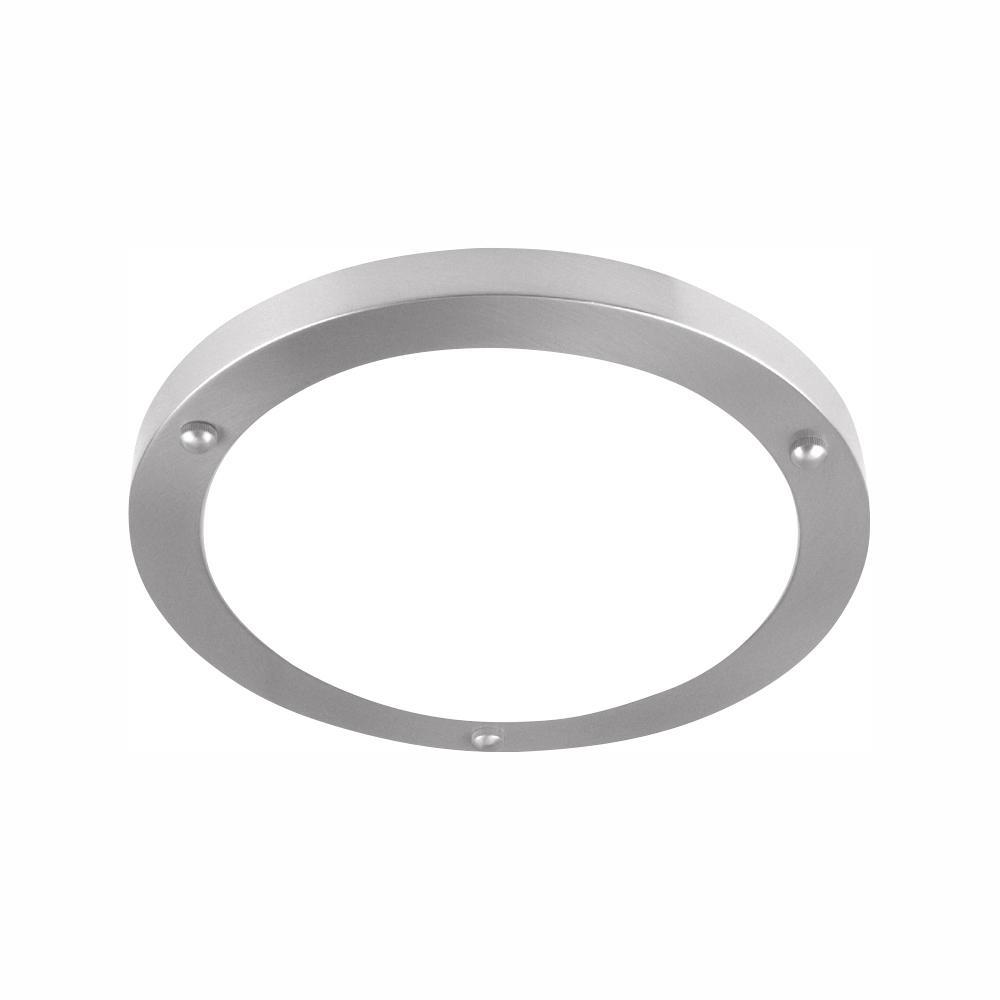 120-Watt Brushed Nickel Integrated LED Flush Mount