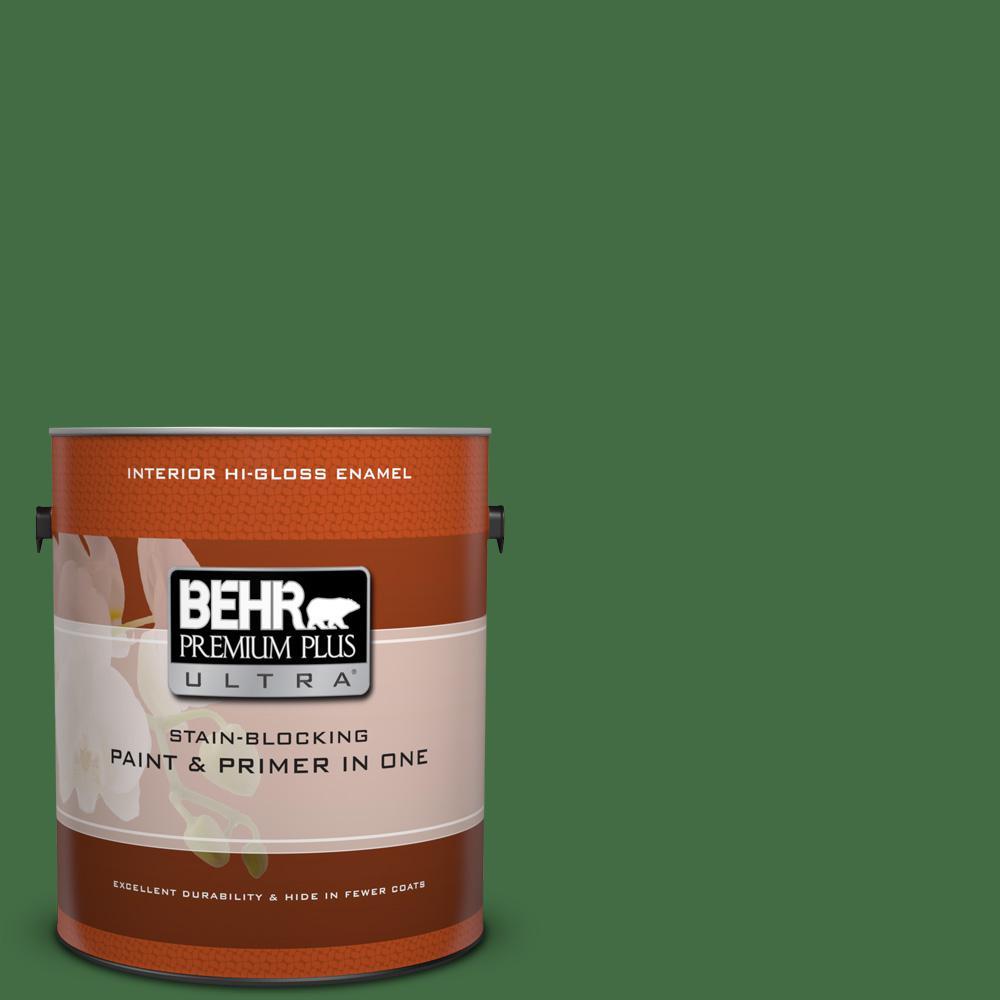 1 gal. #440D-7 Vineyard Hi-Gloss Enamel Interior Paint