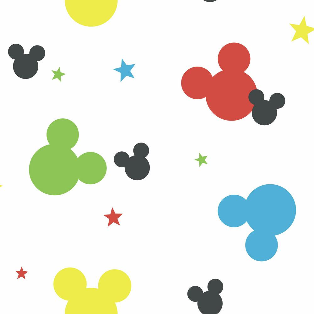 York Wallcoverings Disney Kids III Disney Mickey Mouse Wallpaper DY0208 - The Home Depot