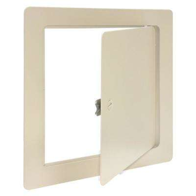 12 in. x 12 in. White Access Panel with Frame