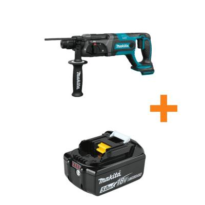 18V LXT Lithium-Ion Cordless 7/8 in Rotary Hammer, accepts SDS-PLUS bits, Tool Only with bonus 18V LXT 5.0Ah Battery