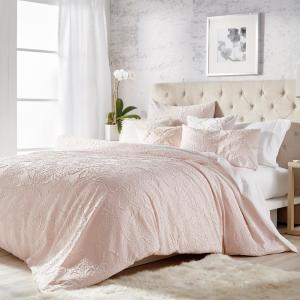 3-Piece Blush King Comforter Set
