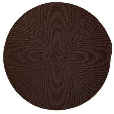 Trends Mink 6 ft. x 6 ft. Braided Round Area Rug