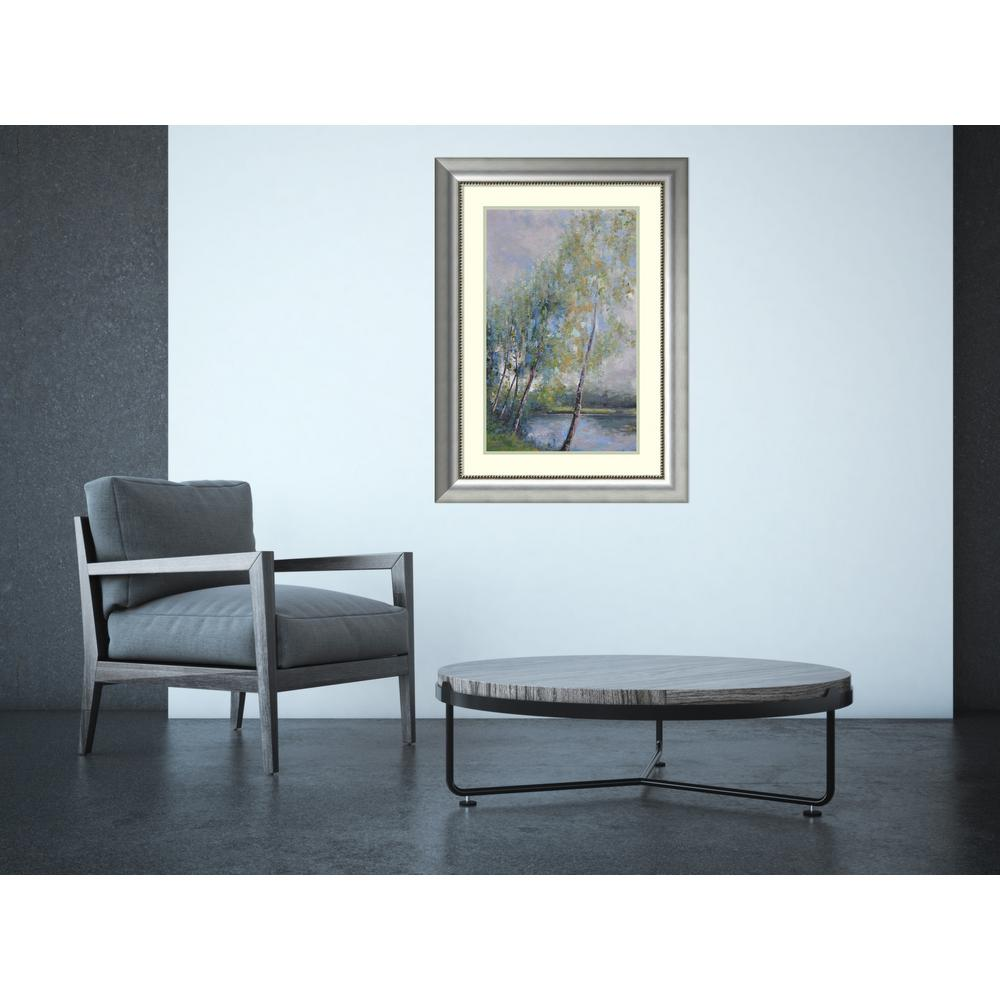 "25 in. W x 34 in. H ""Poetry on Riverbank"" by"