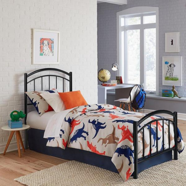 Fashion Bed Group Rylan Black Ink Full Headboard and Footboard With