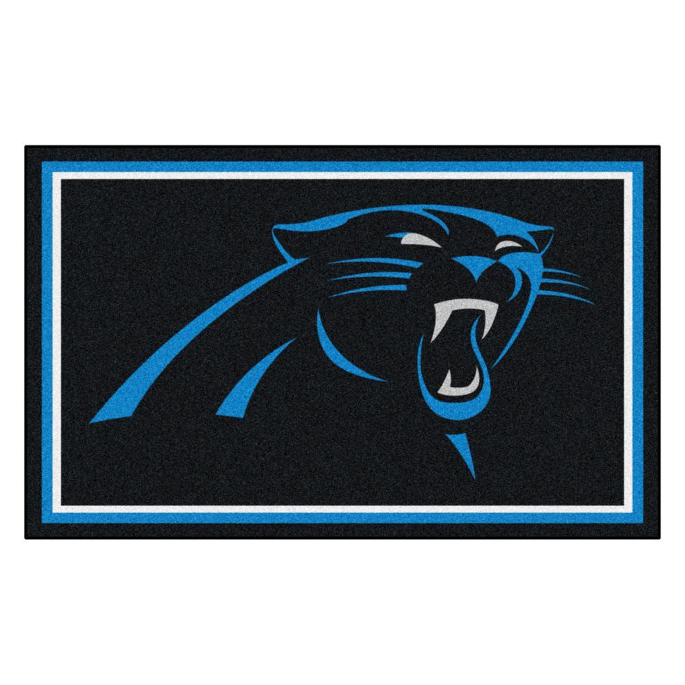 Carolina Panthers 4 ft. x 6 ft. Area Rug