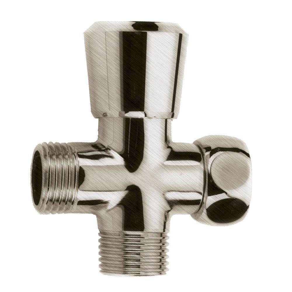 Speakman Pop Up Brass Shower Diverter In Brushed Nickel