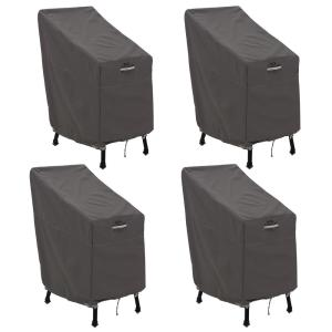 Ravenna Patio Bar Chair and Stool Cover (4-Pack)