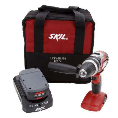 18 Volt Lithium-Ion Cordless Electric 1/2 in. Variable Speed Drill/Driver
