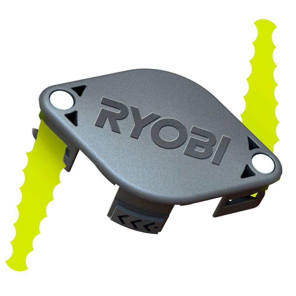 Ryobi Bladed Trimmer Head 2 Pack Acfhrl2 The Home Depot