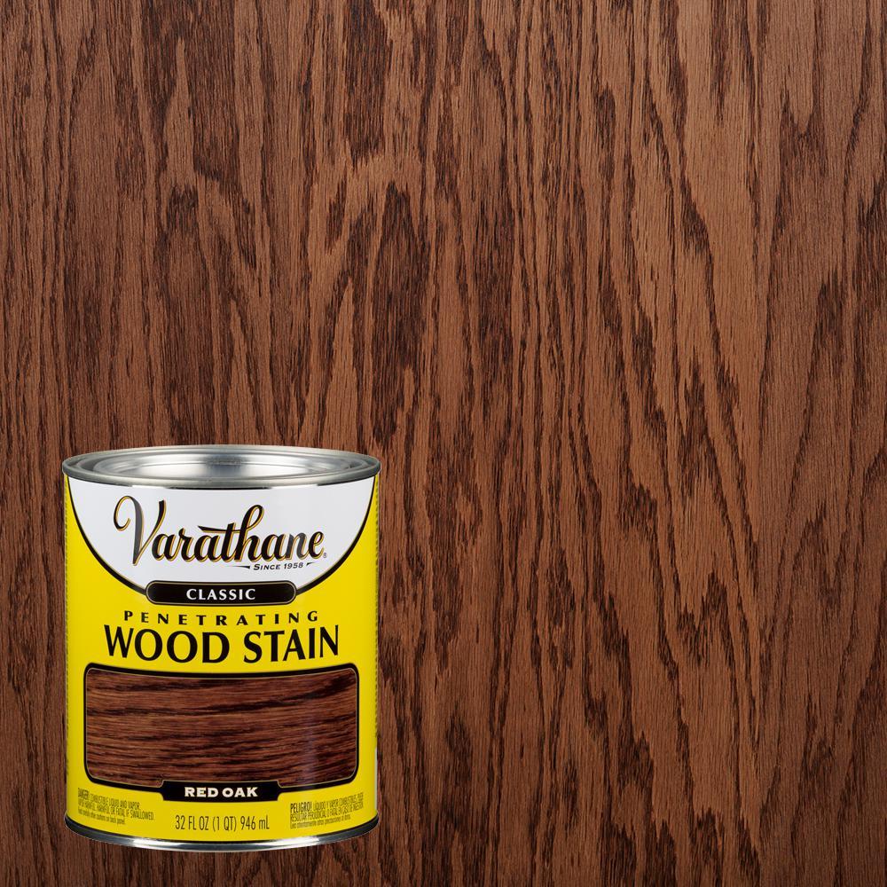 1 qt. Red Oak Classic Wood Interior Stain