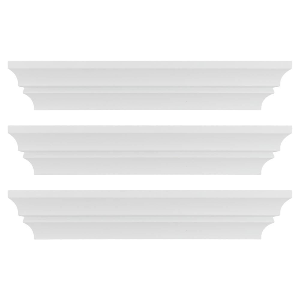 kieragrace KG Madison Wall Shelf, Set of 3