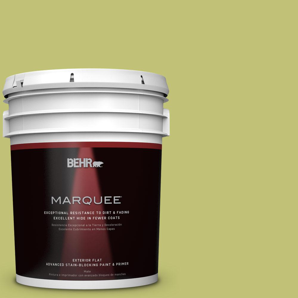 5-gal. #PPU9-7 Fresh Sprout Flat Exterior Paint
