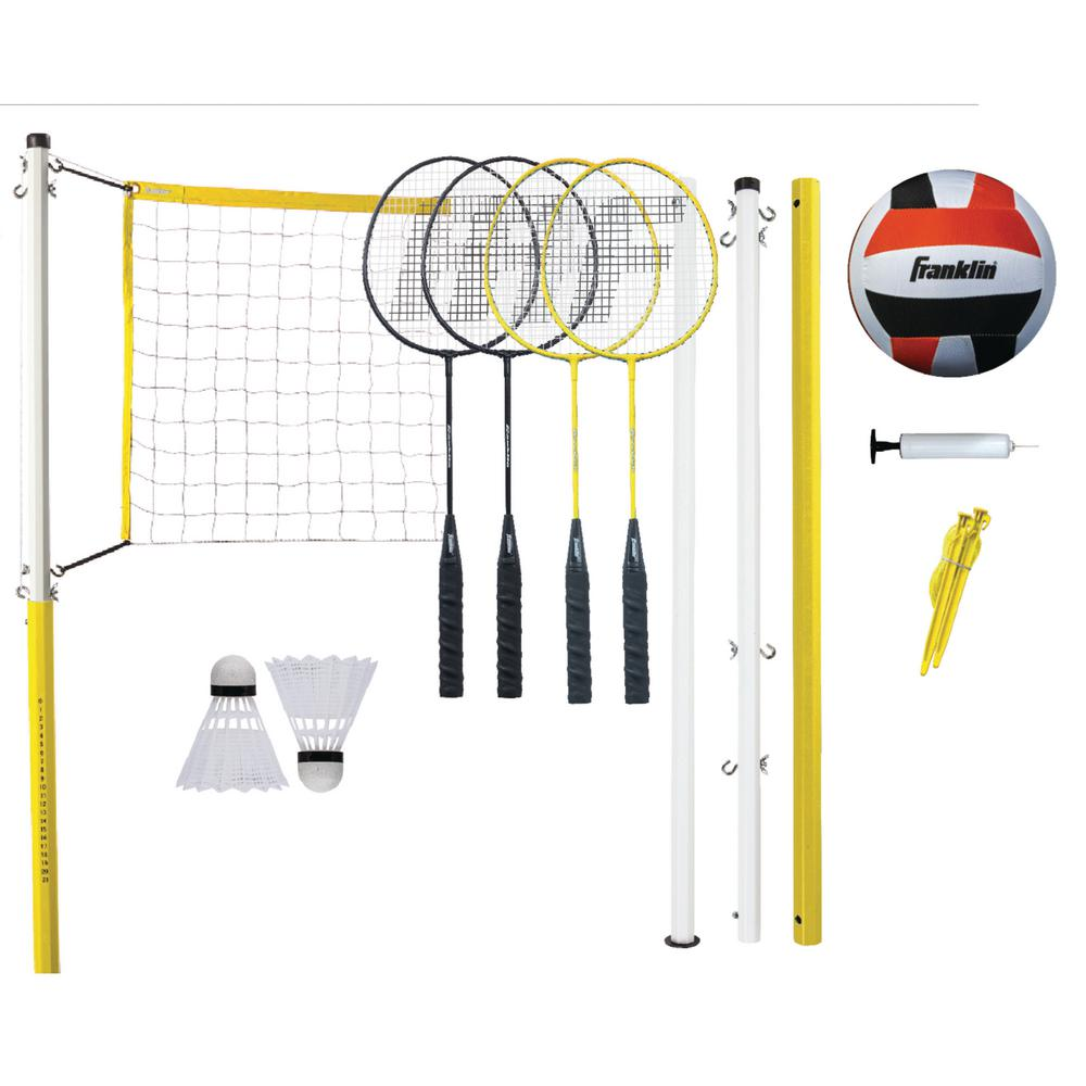 Family Volleyball Badminton Combo Set