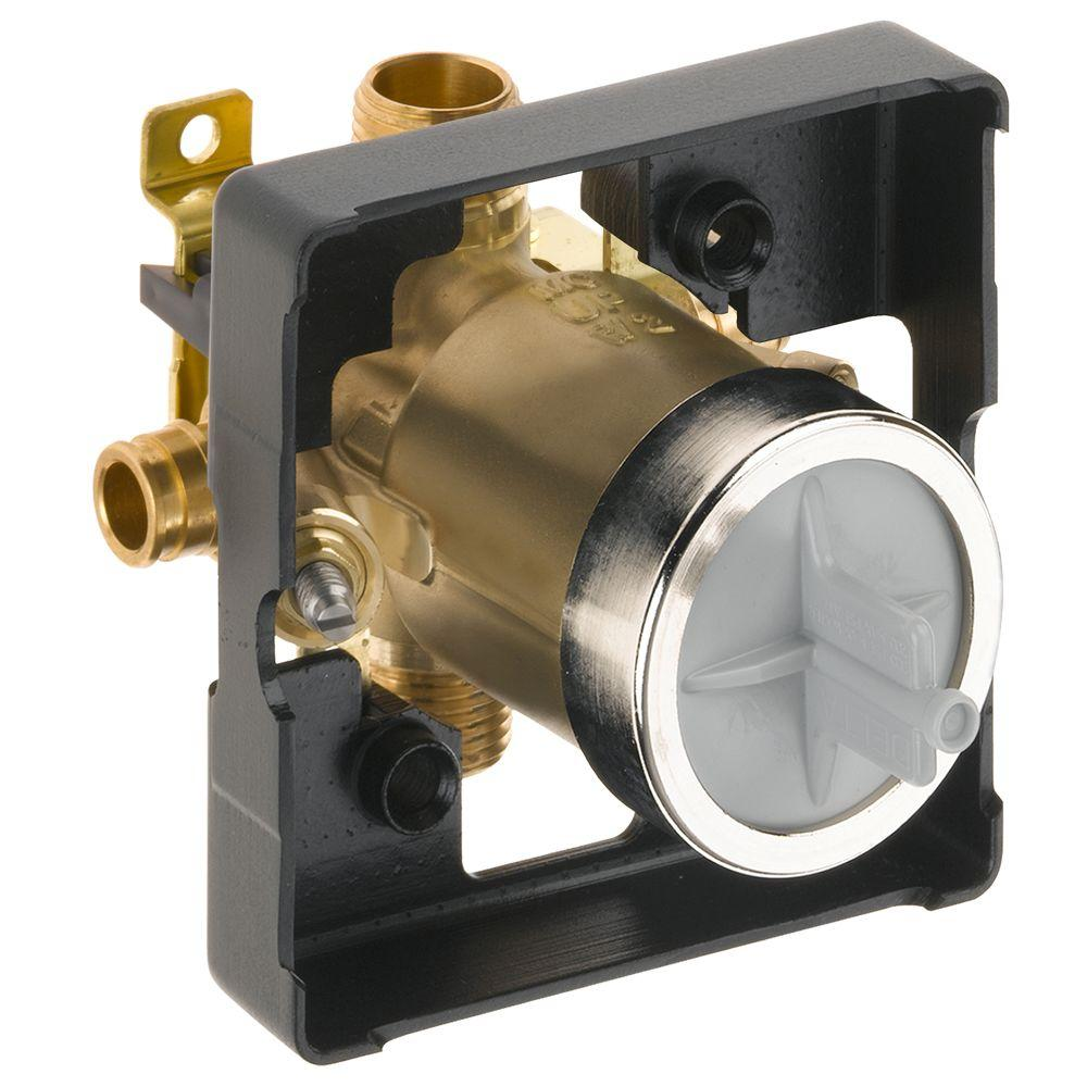 Delta MultiChoice Universal Tub and Shower Valve Body Rough-In Kit ...