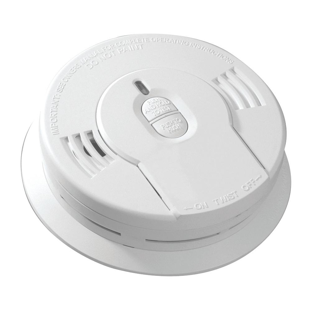 Green Light On Smoke Alarm