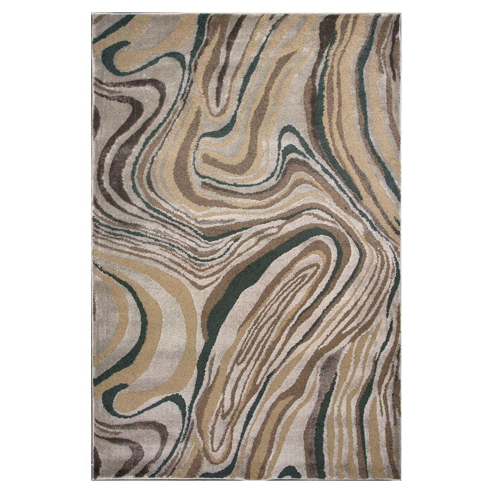 Silver Wood Graines 2 ft. 2 in. x 3 ft. 3