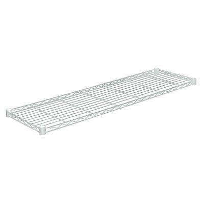48 in. W x 14 in. D 350 lbs. Steel Shelf in Chrome