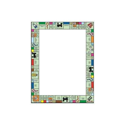 17 in. x 22 in. Monopoly Welcome Poster
