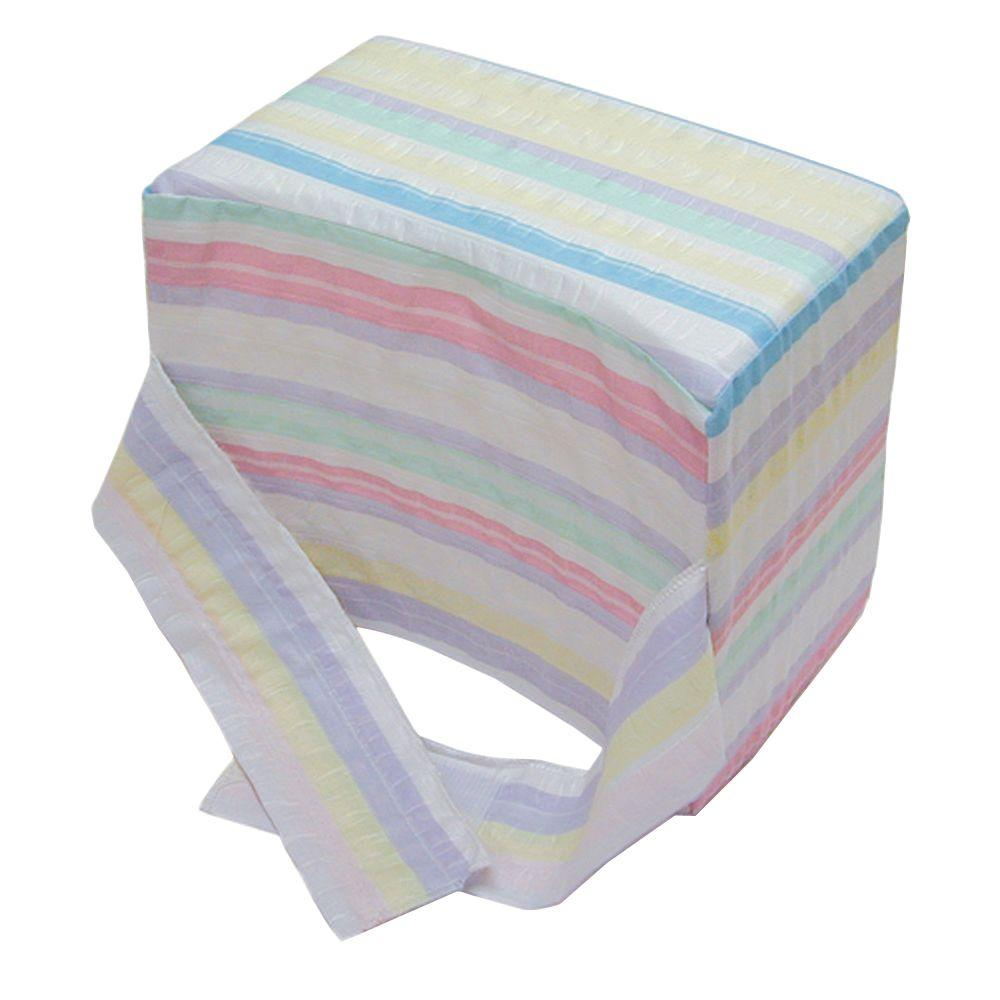 Knee-Ease Pillow with Multi-Stripe