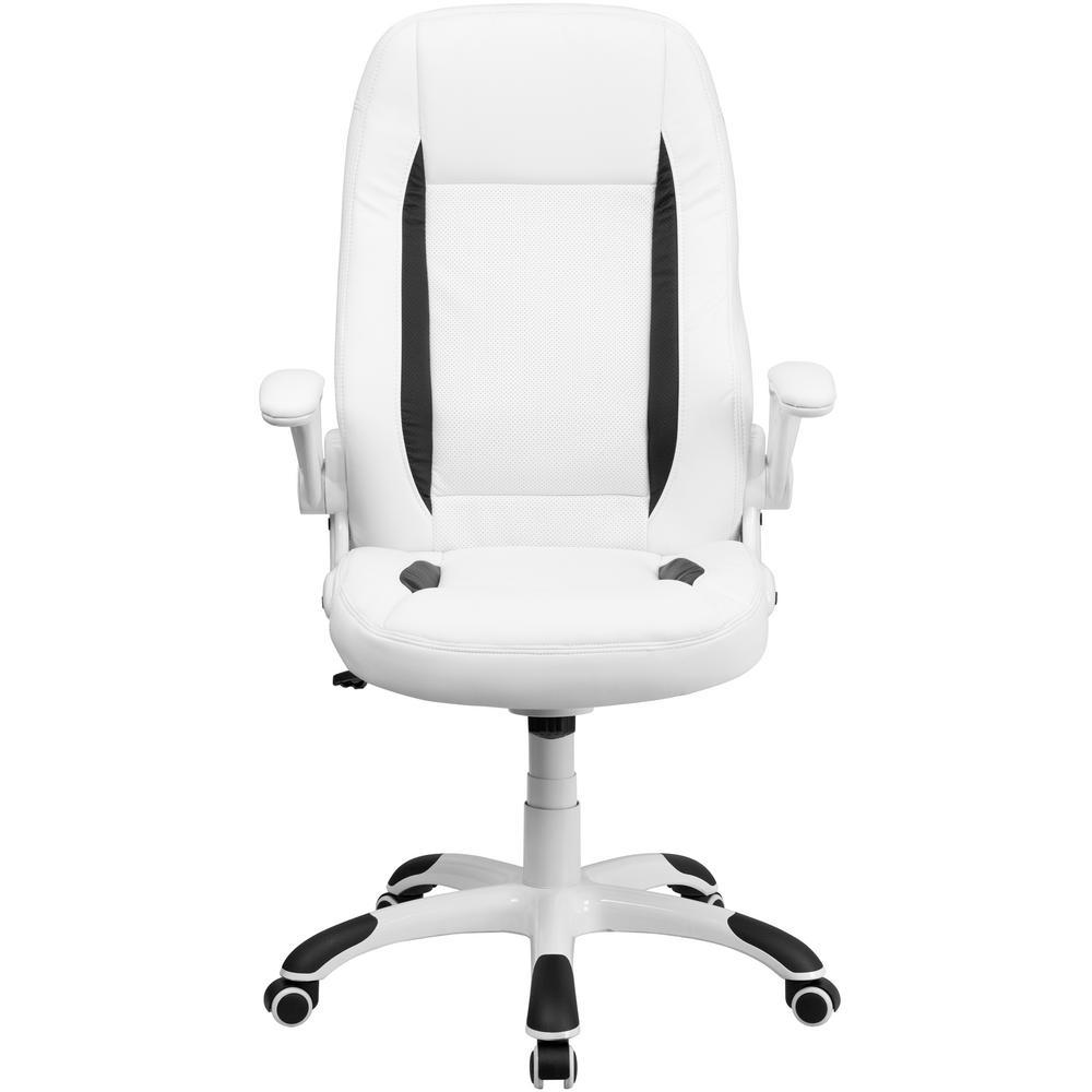 Carnegy Avenue White Office/Desk Chair CGA-CX-8765-WH-HD