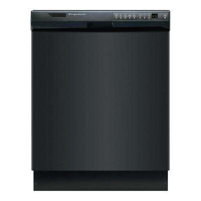 Front Control Dishwasher in Black with Stainless Steel Tub, ENERGY STAR