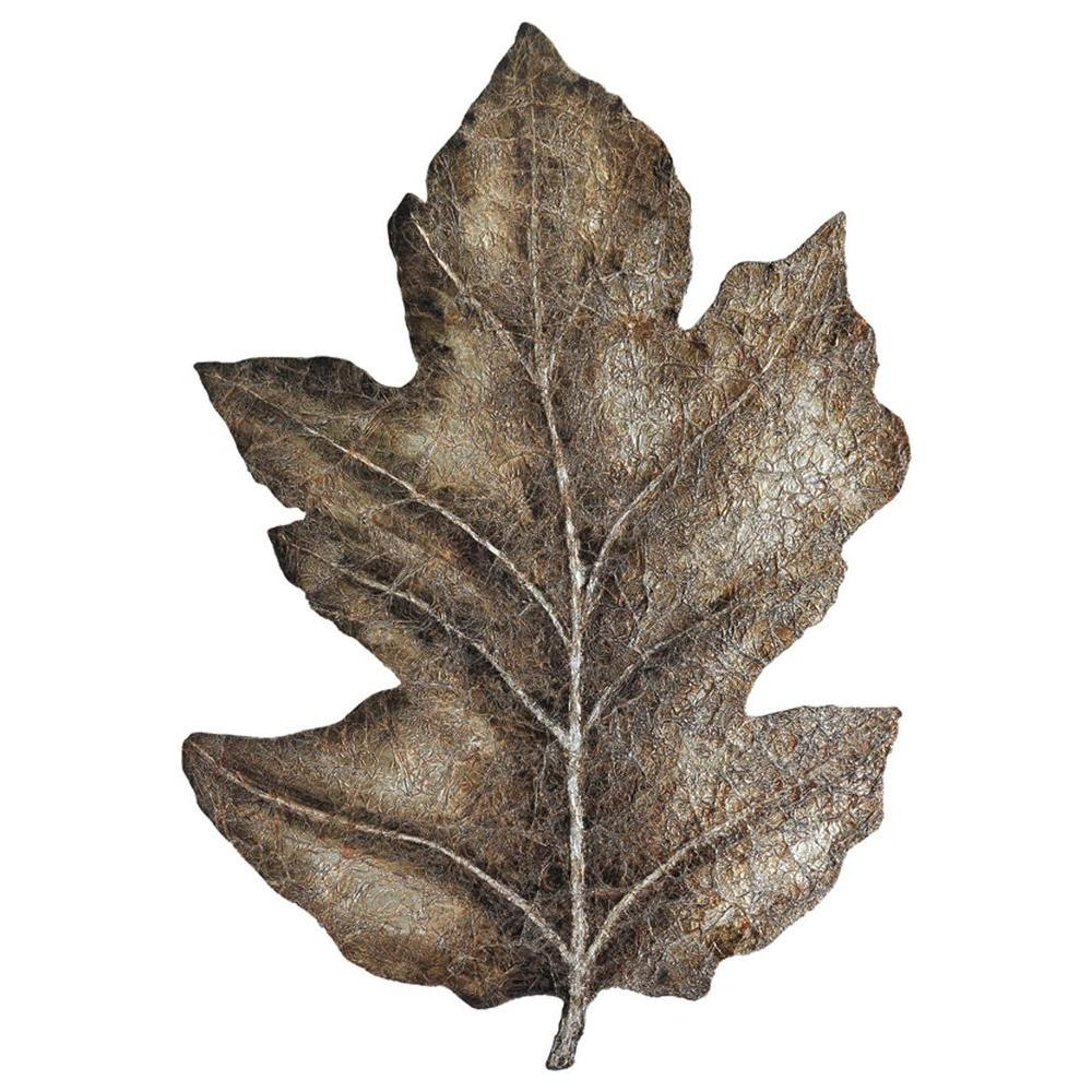 Ren-Wil Luna 39 in. x 28 in. Leaf Sculpture