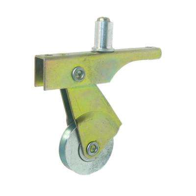 1 in. Steel Wheel Roller Assembly with Screw Guide