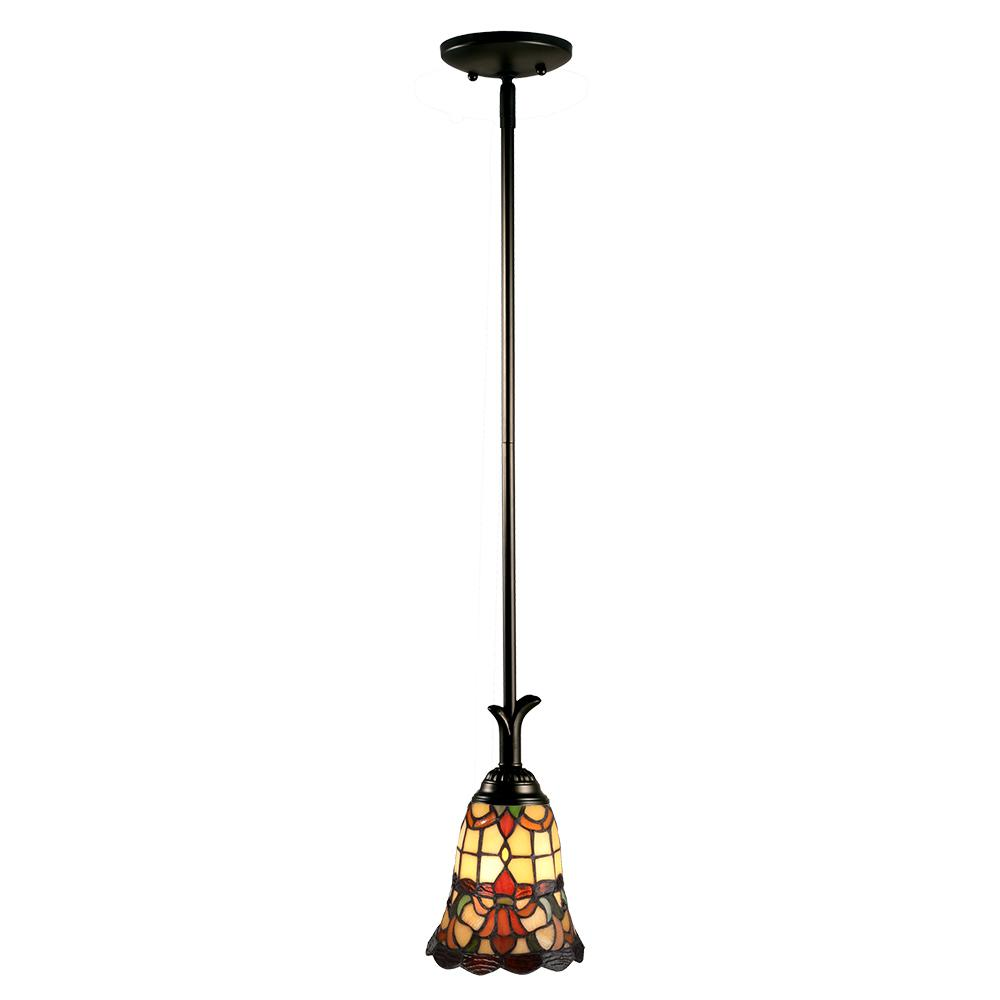 Dale Tiffany Freeport Tiffany 1 Light Coffee Black Mini