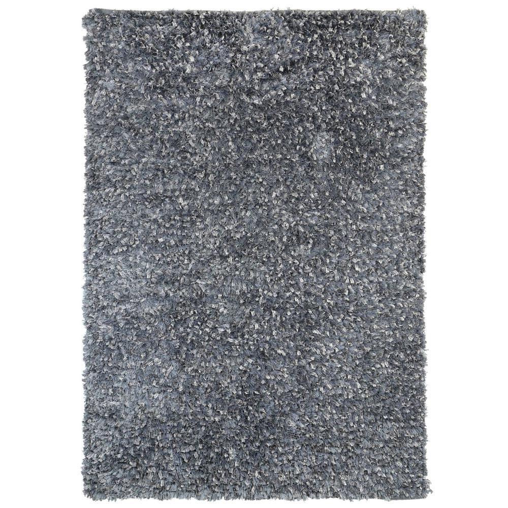 Grey Shag 4 Ft X 6 Area Rug Ss4001