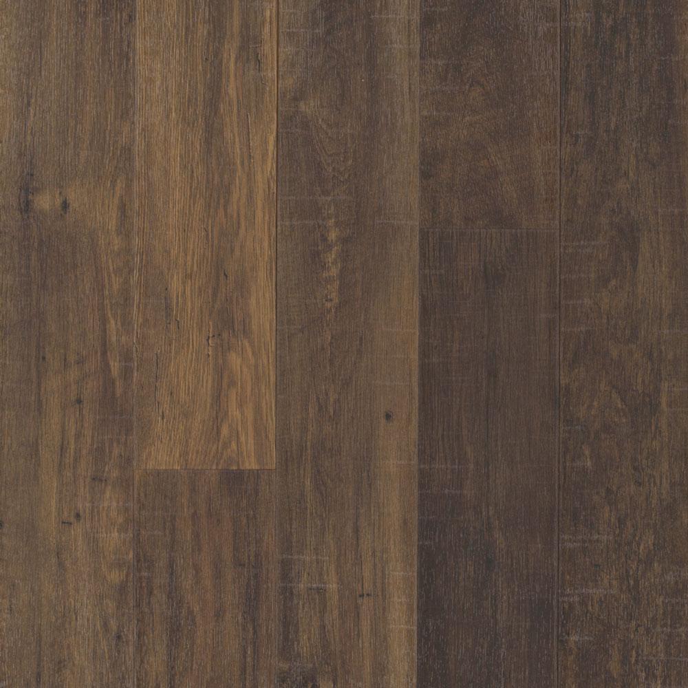 Pergo Take Home Sample Outlast Chestnut Brown Laminate Flooring 5