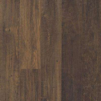 Take Home Sample Outlast+ Chestnut Brown Laminate Flooring - 5 in. x 7 in.