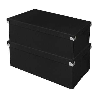 Pop n' Store Essential Box in Black (2-Pack)