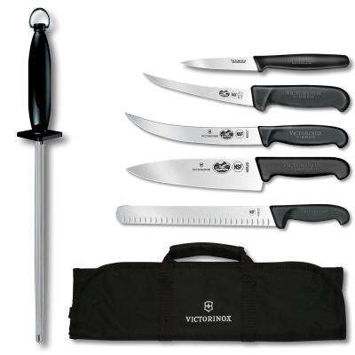 Natural 7-Piece Competition BBQ Set in Black