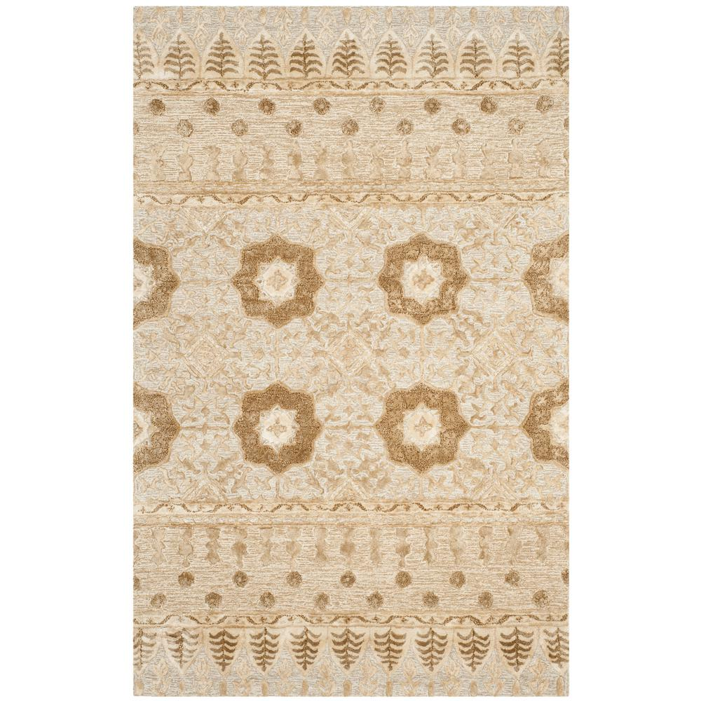 Allure Ivory 5 ft. x 8 ft. Area Rug