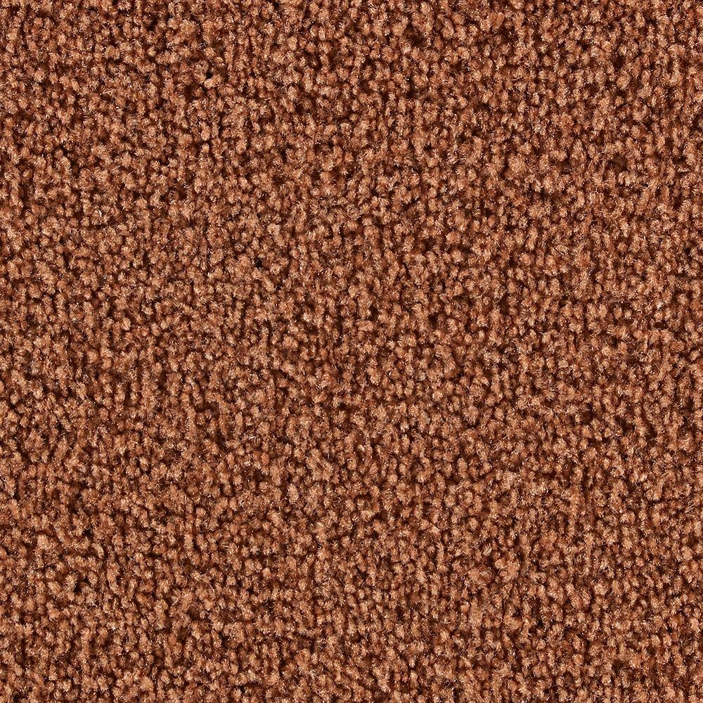 Martha Stewart Living Brycemoor Cinnamon Stick - 6 in. x 9 in. Take Home Carpet Sample-DISCONTINUED