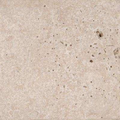 Chiaro 6 in. x 6 in. Tumbled Travertine Floor and Wall Tile (1 sq. ft. / case)