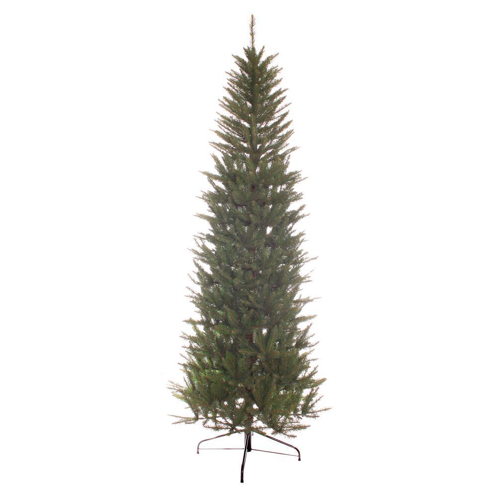 Fraser Fir Christmas Trees: Puleo International 7 Ft. Unlit Slim Fraser Fir Artificial